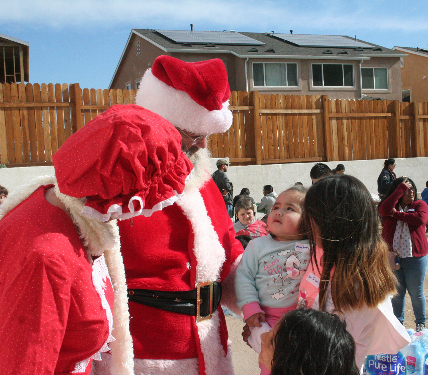 Happy Holidays for Military Families with Homes 4 Families