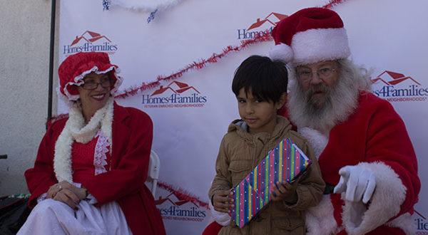 Homes4Families Santa