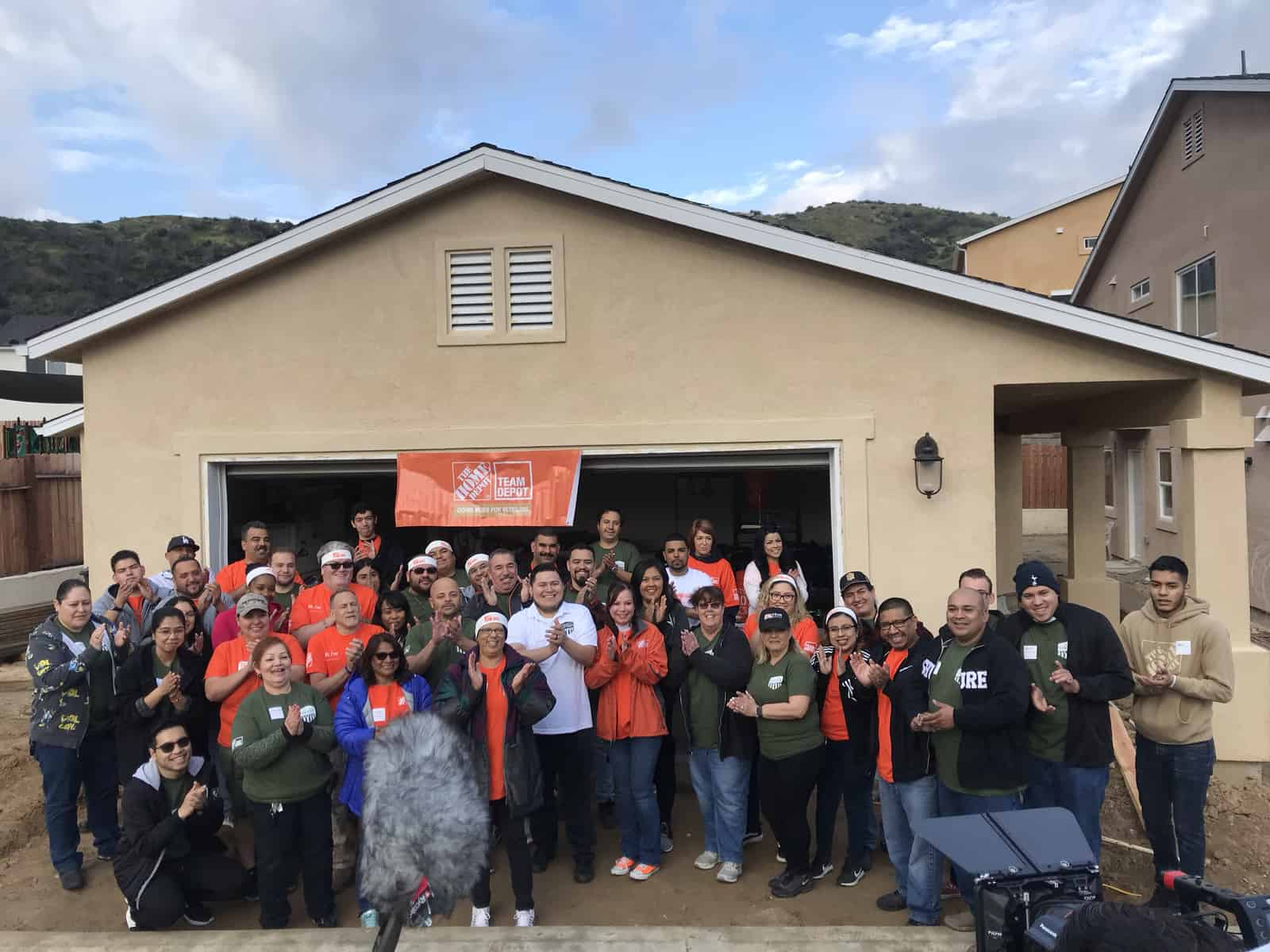 Home Depot TEAMBuild March 2019  Homes4Families