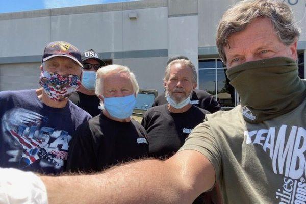 Three of the Santa Clarita Veteran Mentors in this picture: Jim Lentini, Dan Paulson, Dave Narvell.